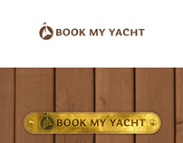 Book My Yacht - logo design