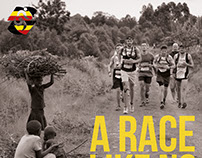 Uganda Marathon - marketing materials