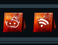 Free Rusty Banner Social Icon Pack
