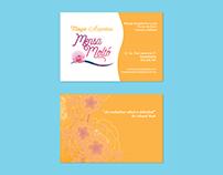 """Branding para """"Mensa Moltó"""" masajes y acupuntura"""