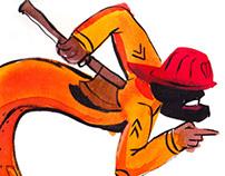 Fireman & Swimmer