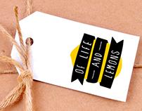 Of Life and Lemons Logo and Branding