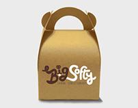 Big Softy Logo and Branding