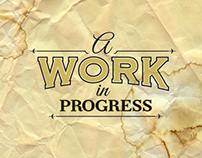 """A Work In Progress"" - Album Covers"