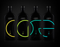 CORE; Spiritual Vodka. Branding and Packaging.