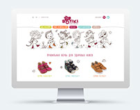 Website for the shoe factory