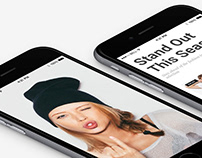 iPhone View - Seller WordPress Theme