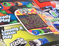 YoYoFactory Product Catalog 2013 - Layout & Design