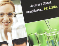 Precision Laboratories Pocket Folder