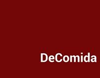 DeComida // app