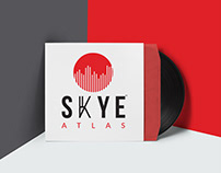 Music Band Logo Vinyl & T shirt Red Type