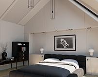 Mansard bedroom