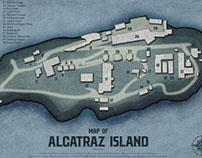 Alcatraz Island Designs