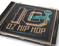 10 Years of Oz Hip Hop Album Art