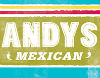 ANDYS MEXICAN MENU