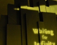 Waiting for Infinity | Book Jacket