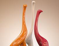 Ceramic Silhouette Camelopard