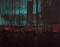 Forest 2016 150/130cm acrylic on canvas