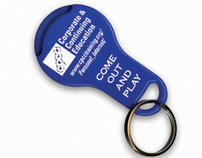 Promotional Keychain - Corporate & Continuing Education
