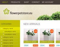 Flowerpot Store design