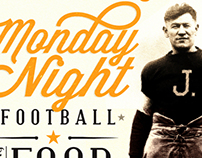 Football Promotion Piece - J.BLACK'S