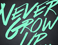 Design of the Day - Never Grow Up