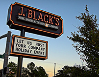Sign Design - J.BLACK'S
