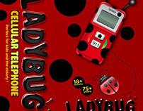 Ladybug Cell Phone