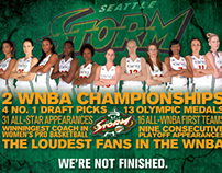Seattle Storm: 2012 Playoff Campaign