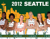 Seattle Storm: 2012 Team Poster