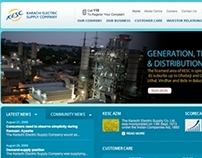 KESC, Website (Pakistan)