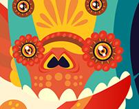 Faro de Oriente Ilustración Febrero 2013 x Sr Calavera