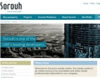 Sorouh Properties, Website (United Arab Emirates)
