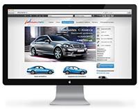 Web design «Auto Alliance»