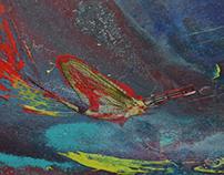mixed media painting 1