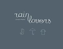 Rain Lovers | B R A N D I N G