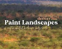 Free Paint Landscape Backgrounds