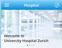 Redesign Univercity Hospital Zurich Apps