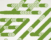 cucumber typeface design