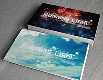 Running Light Business Card Mock Up