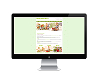 Busy Peas - Website Design