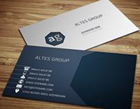 Sleek Business Card
