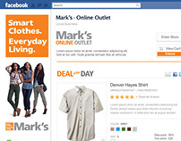 Mark's Facebook Outlet Store