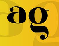 Glid Bach font