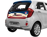 Domino's Pizza Vehicle Design