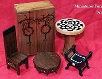 Miniatures Furniture Byzantine (Project Group)