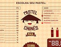 Linha Visual / Pastel Chinês do Raul