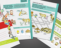 Illustrated grammar books for Target Publications