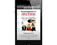 The Spectator on iPhone