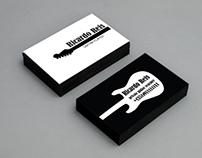 Guitar Player - Business card